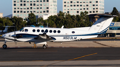 N503LM - Beechcraft 300 Super King Air - Private
