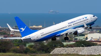A picture of B5307 - Boeing 73785C - Xiamen Air - © Huang Chengjen