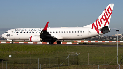 A picture of VHYFU - Boeing 7378FE - Virgin Australia - © Daniel Benefield