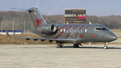 C-FLMK - Bombardier CL-600-2B16 Challenger 605 - Chartright Air