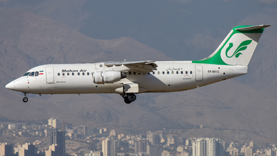 EP-MOG - British Aerospace BAe 146-300 - Mahan Air