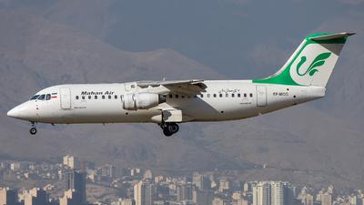 A picture of EPMOG - Avro RJ100 - Mahan Air - © Mohamadreza Zeinloo