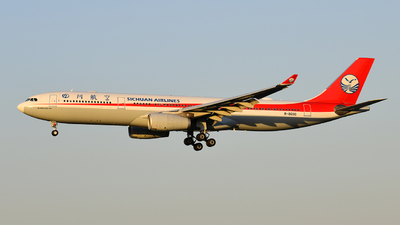 A picture of B8690 - Airbus A330343 - Sichuan Airlines - © Louis.Lien