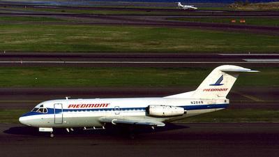 N284N - Fokker F28-1000 Fellowship - Piedmont Airlines