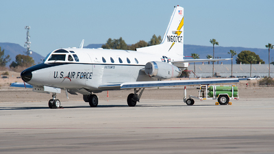 N607CF - North American Sabreliner 60 - Private