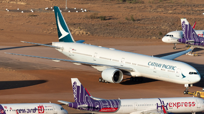 A picture of BKPA - Boeing 777367(ER) - Cathay Pacific - © Mitch Coad