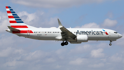 A picture of N313SB - Boeing 737 MAX 8 - American Airlines - © Brian T Richards