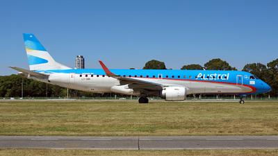LV-GBK - Embraer 190-100IGW - Austral Líneas Aéreas