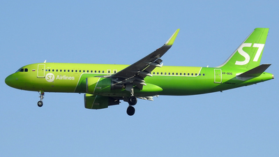 A picture of VPBOG - Airbus A320214 - S7 Airlines - © Alessandro Berti