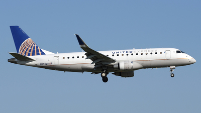 A picture of N85320 - Embraer E175LR - United Airlines - © DJ Reed - OPShots Photo Team