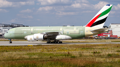 A picture of FWWSY - Airbus A380 - Airbus - © Stian Haabeth