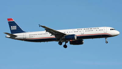 N552UW - Airbus A321-231 - US Airways