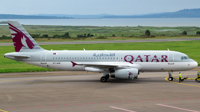 A7-AHE - Airbus A320-232 - Qatar Airways