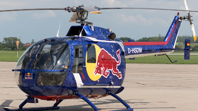 D-HSDM - MBB Bo105CBS-4 - Red Bull Racing Team