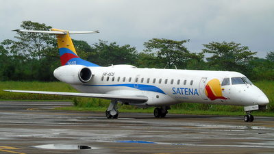 A picture of HK4535 - Embraer ERJ145LR - Satena - © capitanjose90