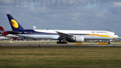 VT-JEQ - Boeing 777-35RER - Jet Airways