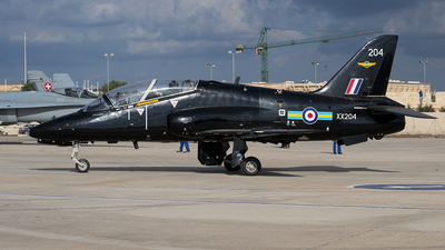 XX204 - British Aerospace Hawk T.1A - United Kingdom - Royal Air Force (RAF)