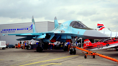 44 - Sukhoi Su-34 Fullback - Russia - Air Force