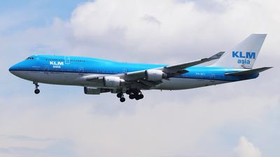 PH-BFY - Boeing 747-406(M) - KLM Asia