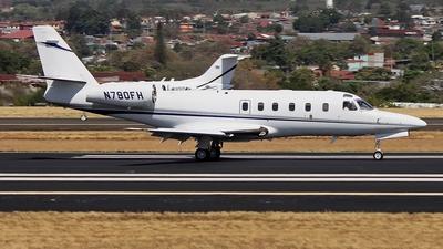A picture of N790FH - Gulfstream G100 - [056] - © Denis Gonzalez - Costa Rica Spotter