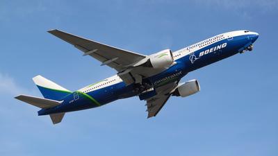 N772ET - Boeing 777-2J6 - Boeing Company
