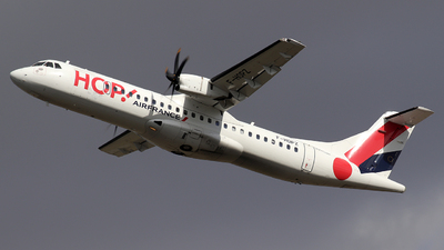 F-HOPZ - ATR 72-212A(600) - HOP! for Air France