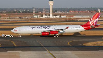 G-VSUN - Airbus A340-313 - Virgin Atlantic Airways