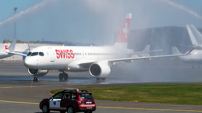 A picture of HBJCA - Airbus A220300 - Swiss - © Jevgeni Ivanov