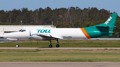 A picture of VHUZN - Fairchild Swearingen Metroliner - Toll Aviation - © Brock L