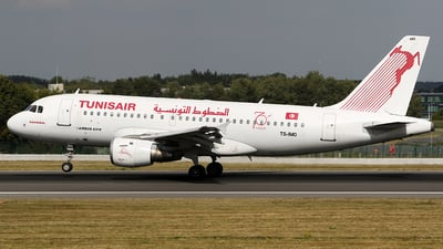 TS-IMO - Airbus A319-114 - Tunisair