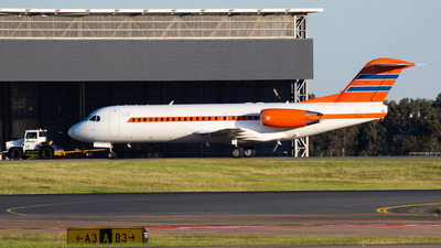 VH-KBX - Fokker 70 - Alliance Airlines