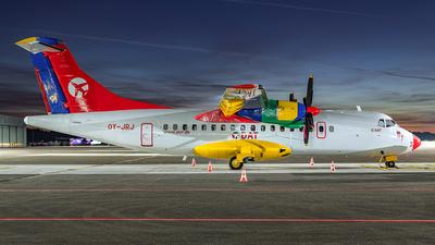 OY-JRJ - ATR 42-320 - Danish Air Transport (DAT)