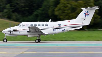 HB-GLA - Beechcraft B200 Super King Air - Swiss Flight Services (SFS)