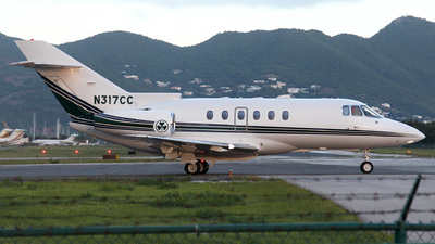 A picture of N317CC - Hawker 800XP - [258532] - © Dave Potter
