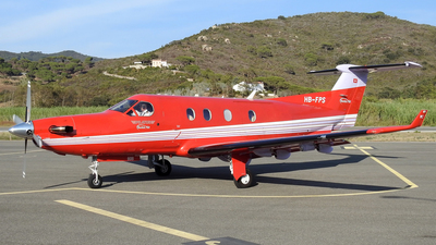 A picture of HBFPS - Pilatus PC12/45 - [608] - © Alessandro Berti - Tuscan Aviation