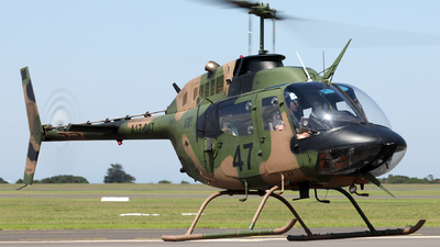 VH-XKH - Bell 206B-1 Kiowa - Private