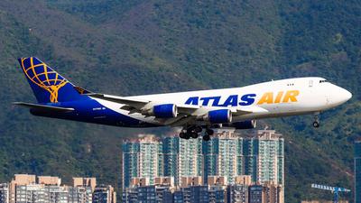A picture of N475MC - Boeing 74747U(F) - Atlas Air - © Chow Kin Hei - AHKGAP