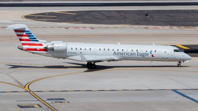 A picture of N760EV - Mitsubishi CRJ701ER - American Airlines - © John Marzo