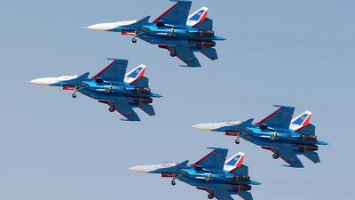 34 - Sukhoi Su-30SM - Russia - Air Force
