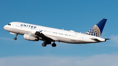 N490UA - Airbus A320-232 - United Airlines