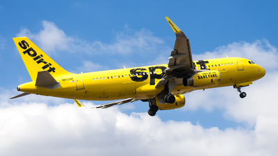 N652NK - Airbus A320-232 - Spirit Airlines