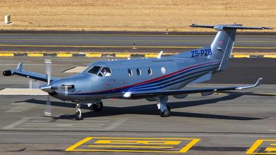 ZS-PZB - Pilatus PC-12/45 - Private