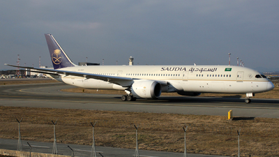 A picture of HZAR11 - Boeing 7879 Dreamliner - Saudia - © Luca Gussoni