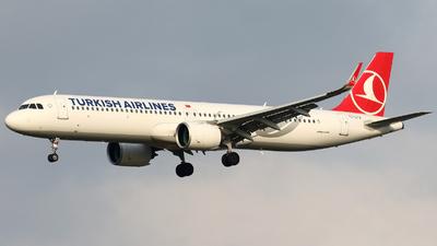 TC-LTA - Airbus A321-271NX - Turkish Airlines