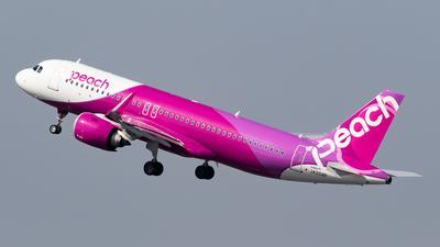 JA204P - Airbus A320-251N - Peach Aviation