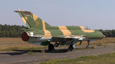 596 - Mikoyan-Gurevich MiG-21M Fishbed J - German Democratic Republic - Air Force