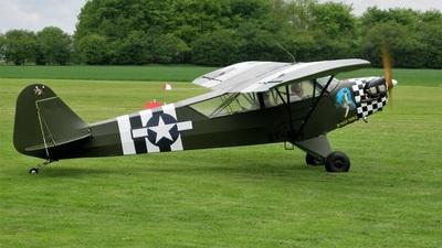 OY-AFG - Piper J-3C-65 Cub - Private