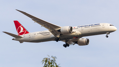 A picture of TCLLD - Boeing 7879 Dreamliner - Turkish Airlines - © Alejandro Zárate Gtz