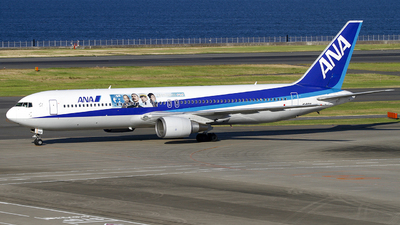 JA601A - Boeing 767-381 - All Nippon Airways (ANA)
