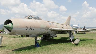 5316 - Sukhoi Su-7BM Fitter A - Slovakia - Air Force
